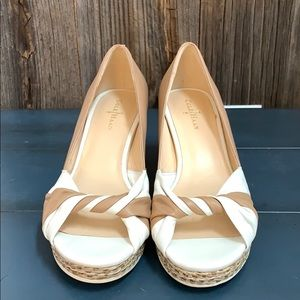 Cole Haan Ava Open Toed Wedges